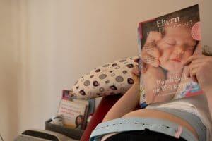 CTG-Untersuchung während der Schwangerschaft.