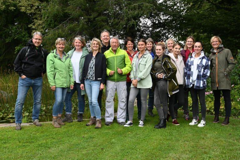 Team der Frauenarztpraxis mein-gyn bei unserem Herbsttreffen